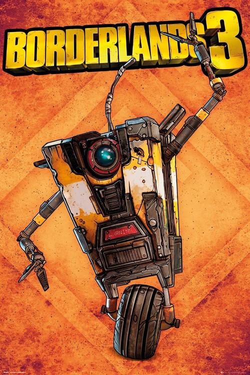 Borderlands 3 - Claptrap Poster