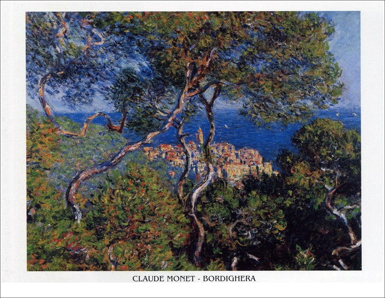 Bordighera, 1884 Art Print