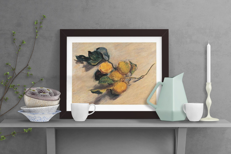 Branch from a Lemon Tree Art Print