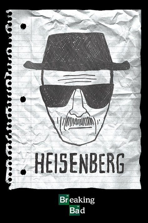 Poster BREAKING BAD - heisenberg want