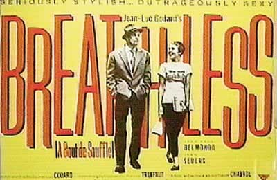 Poster BREATHLESS - A bout de souffle