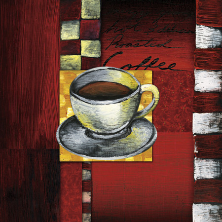 BREWING COFFEE Art Print