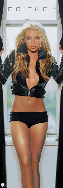 Britney Spears - leather Poster, Art Print