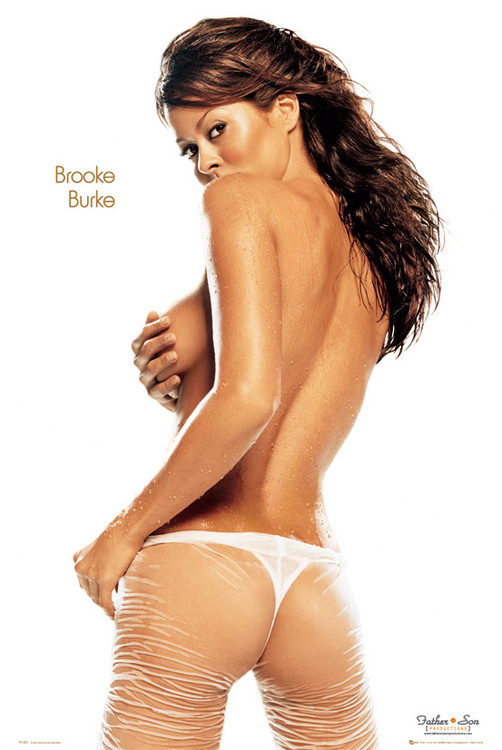 Poster Brooke burke - wet