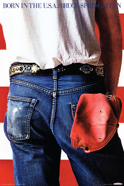 Pôster Bruce Springsteen - Born in the USA