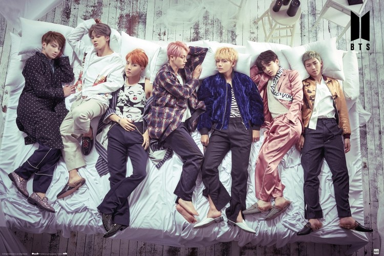 BTS - Bed Poster
