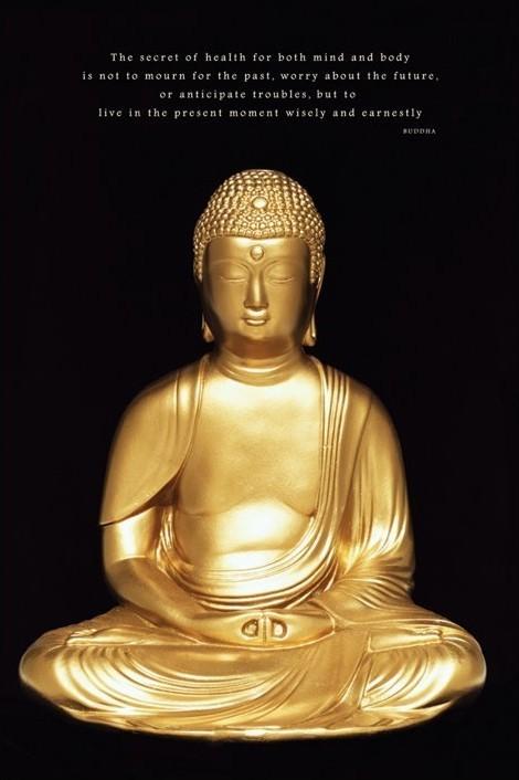 Buddha Poster, Art Print