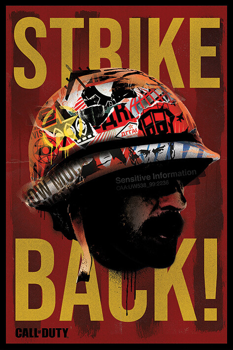 Call of Duty: Black Ops Cold War - Strike Back Poster