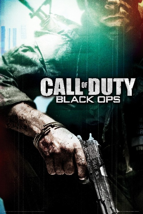 Pôster Call of Duty - black ops
