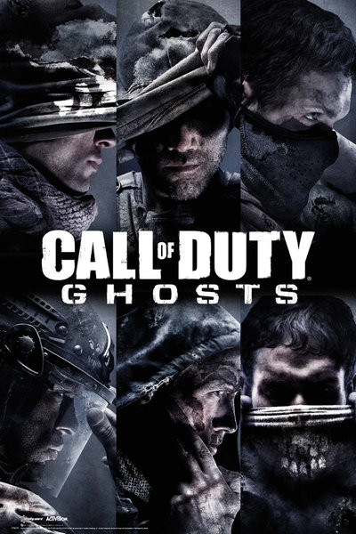 Call of duty ghosts profiles poster sold at europosters call of duty ghosts profiles poster voltagebd Choice Image