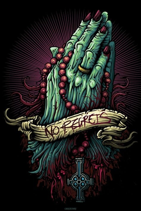 Cardxcore No Regrets Dan Mumford Poster Sold At Ukposters