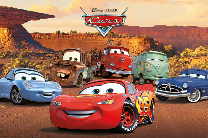 cars characters poster sold at abposters com