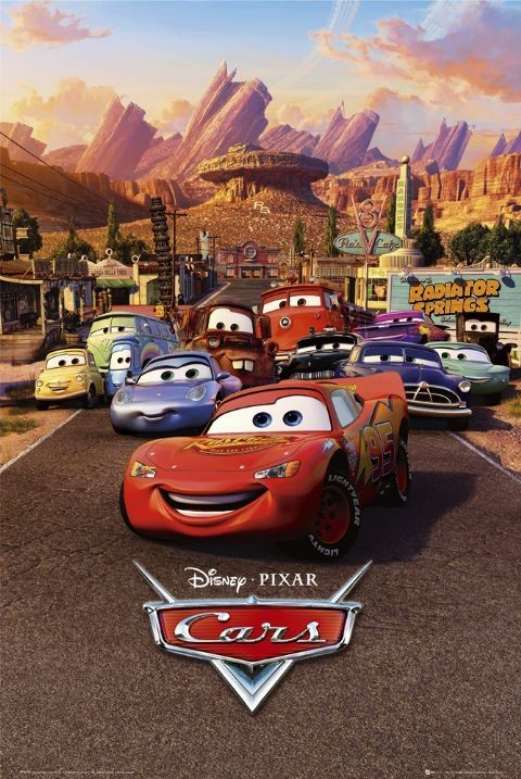 CARS - one sheet Poster