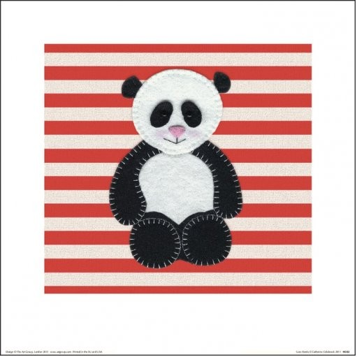 Catherine Colebrook - Panda Art Print