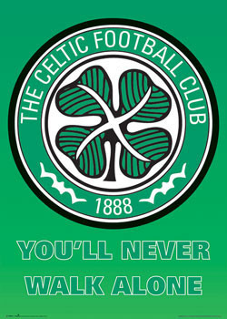 Celtic - club crest Poster, Art Print