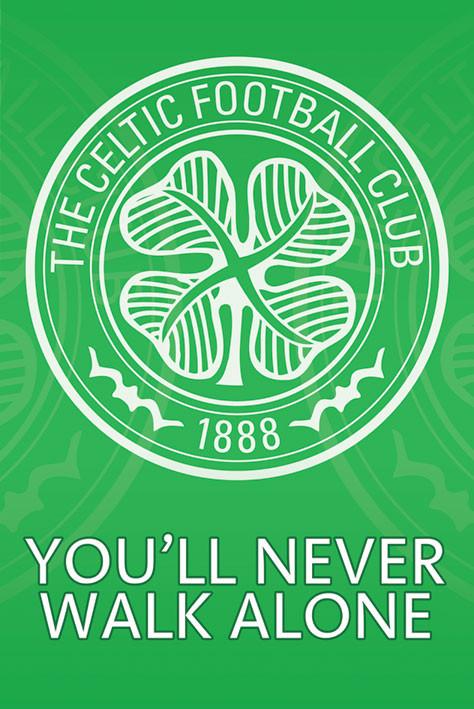 Celtic - crest Poster