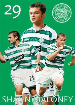 Poster Celtic - Maloney 03