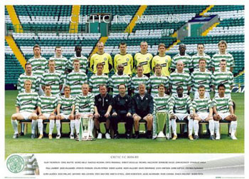 Pôster Celtic - Team 04/05