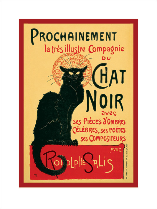Chat Noir  Art Print