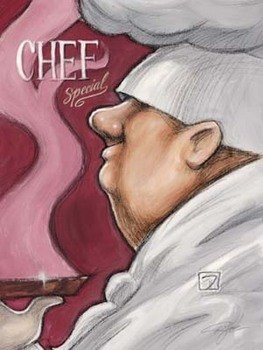 Chef Special Art Print