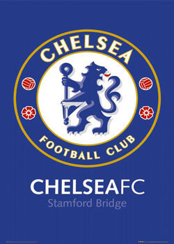 Chelsea - badge Poster