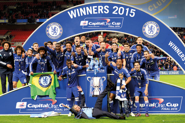 Http Atdhe Eu Vs Cheaise Manchister City: Chelsea FC - Cup Winners Trophy Poster