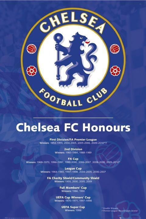 Chelsea - honours 2010 Poster, Art Print