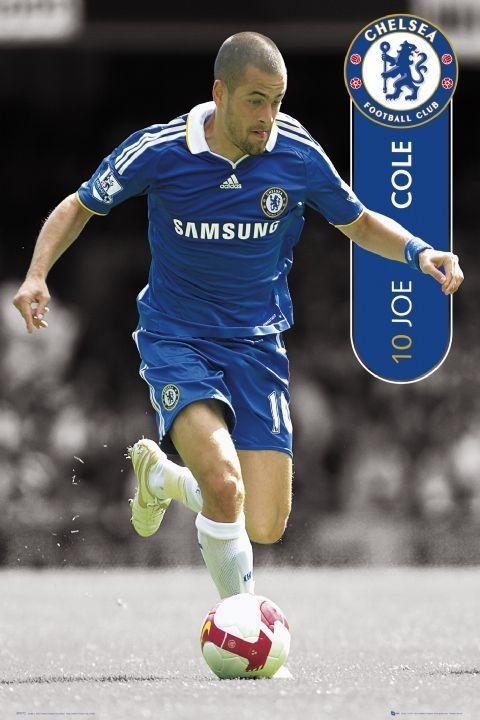 Chelsea - joe cole 08/09 Poster, Art Print