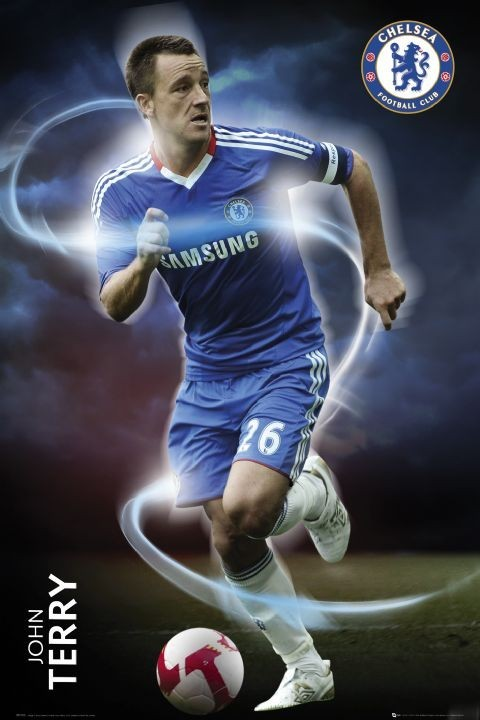 Chelsea - terry 2010/2011 Poster