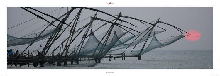 Chinese nets Art Print