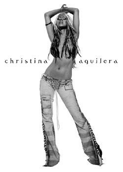 Pôster Christina Aguilera - album