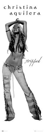 Christina Aguilera - album Poster, Art Print