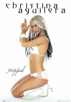 Christina Aguilera - gun Poster