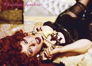 Poster Christina Aguilera - telephone
