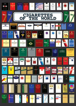 Cigarette of the world Poster