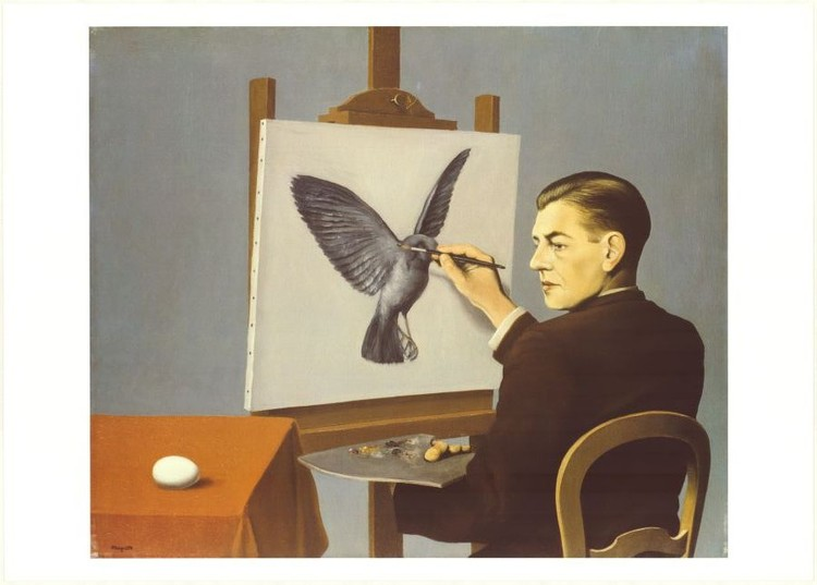Clairvoyance (Self Portrait), 1936 Art Print