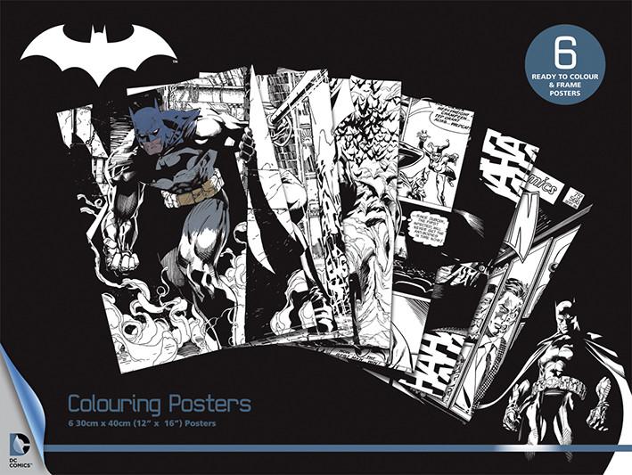 DC Comics Batman Coloring Poster Sold at Europosters