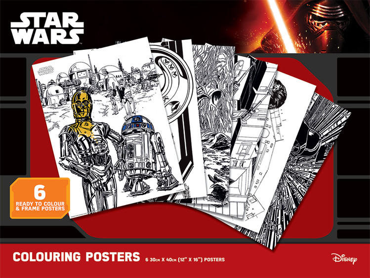 Star Wars - Classic Coloring Poster
