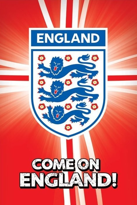 Come On England Poster Sold At Ukposters