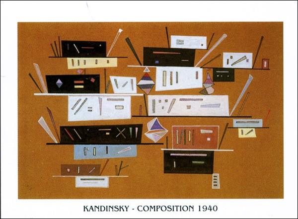 Composition 1940 Art Print