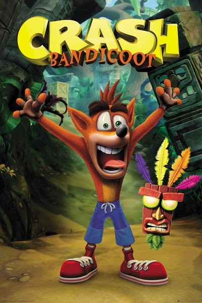 Poster Crash Bandicoot - Crash