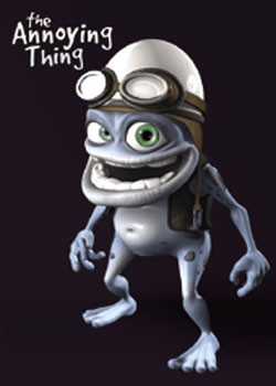 Pôster Crazy Frog - Black