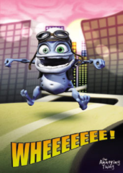 Crazy Frog - City Poster