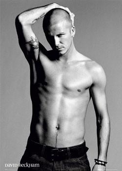 David Beckham - arm Poster