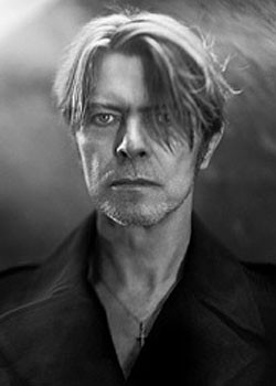 David Bowie Three Faces Retro Metal Poster Wall Sign