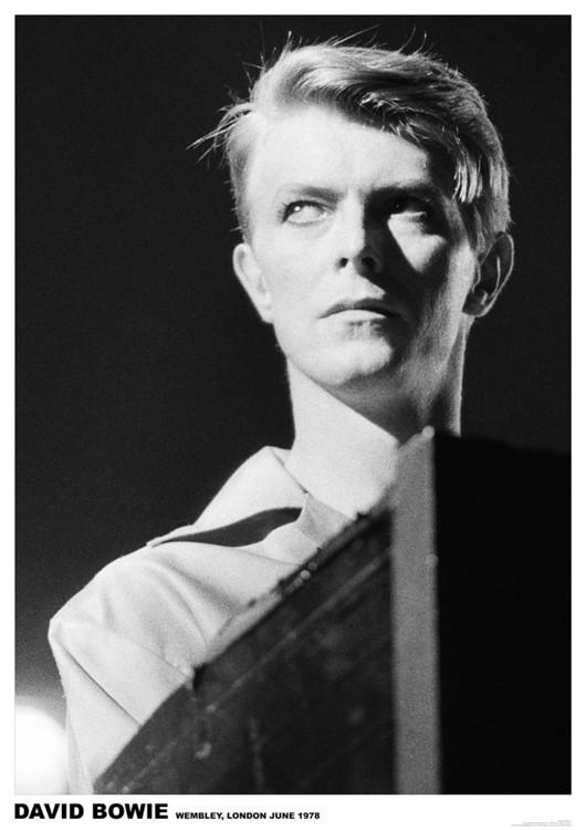 Poster David Bowie - Wembley 1978