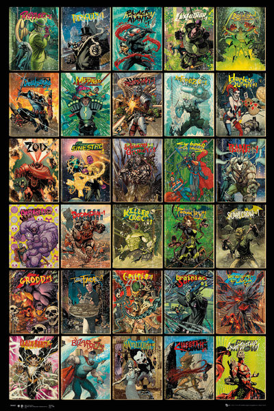 DC Comics - Forever Evil Compilation Poster, Art Print