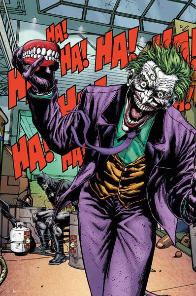DC Comics - Joker Forever Evil Poster, Art Print