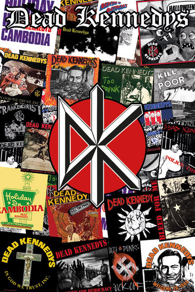 Dead Kennedys Collage Poster Sold At Europosters
