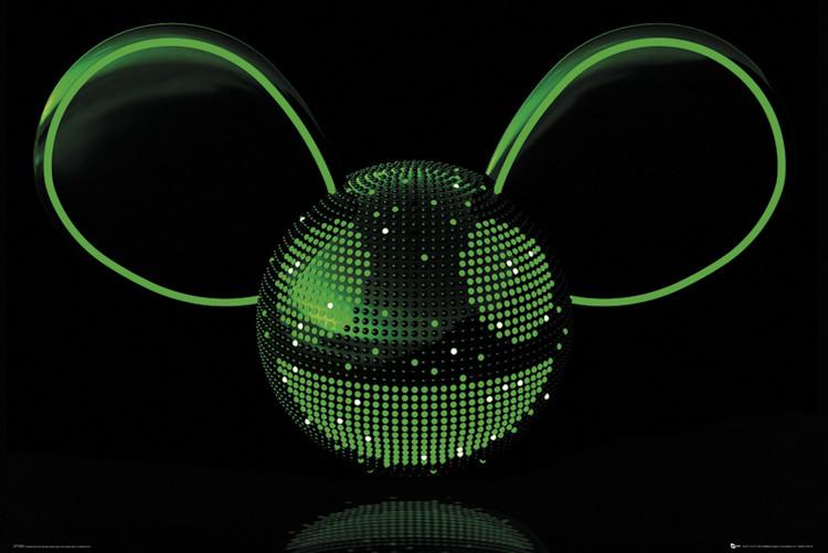 Deadmau5 - Neon Poster
